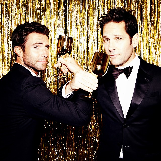 Paul Rudd & Adam Levine